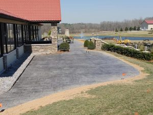 Commercial Stamped Concrete